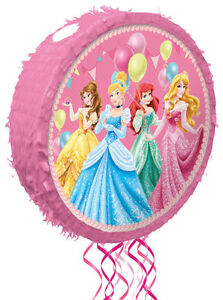 Disney Princess Pop-Out Pull String Pinata AWE2136 Party Supplies Lolly Toys