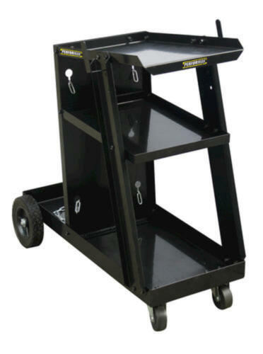 Heavy Duty Welding Cart Steel Garage Shop Mobile Design Welder Stand Storage