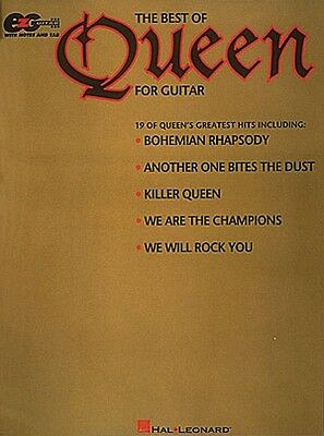 The Best of Queen for Guitar Sheet Music Easy Guitar NEW