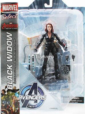 Marvel Select Black Widow Avengers 2 Age of Ultron Action Figure - Avengers 2 Black Widow