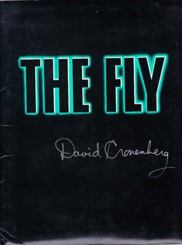 Autographed by David Cronenberg - THE FLY - 1986 complete Press Kit