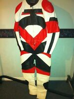 50% OFF NEW TWO PIECE MOTORCYCLE RACING SUIT SIZE L