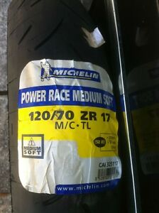 NEW MICHELINE PILOT POWER RACE TIRES MEDIUM SOFT Windsor Region Ontario image 7