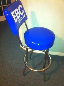 NEW EBC BRAKES BAR STOOL WITH FOOT REST AND BACK SUPPORT Windsor Region Ontario image 2