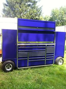 THE BEST SNAP ON 3 BAY PIT NASCAR STYLE WAGON/BOX  WITH EXTRAS Windsor Region Ontario image 2