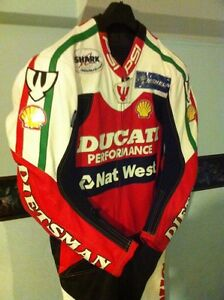 RARE CARL FOGARTY NEW RACE REPICA CUSTOM MADE RACING SUIT Windsor Region Ontario image 3