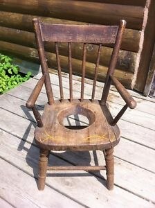 ***NEW PRICE***ANTIQUE CHILDS POTTY CHAIR
