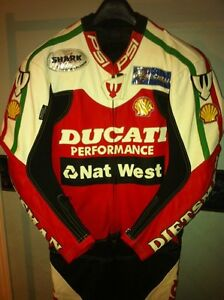 RARE CARL FOGARTY NEW RACE REPICA CUSTOM MADE RACING SUIT Windsor Region Ontario image 1