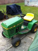 PARTING OUT A JOHN DEERE TRACTOR 12.5HP