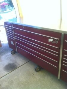 MR BIG PROFESSIONAL 5 BAY SNAP ON TOOL BOX WITH 8 CASTER WHEELS Windsor Region Ontario image 1