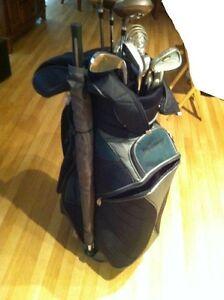 Ensemble de bâtons de golf