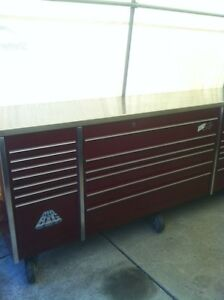 MR BIG PROFESSIONAL 5 BAY SNAP ON TOOL BOX WITH 8 CASTER WHEELS Windsor Region Ontario image 3