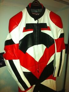 50% OFF NEW TWO PIECE MOTORCYCLE RACING SUIT SIZE L Windsor Region Ontario image 3