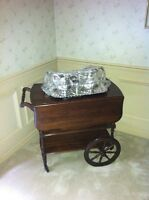 Pennsylvania House Solid Cherry Tea/Coffee Wagon