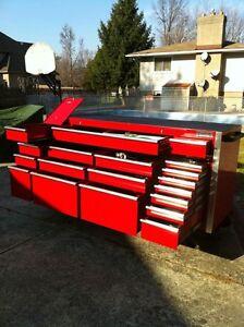 REDUCED HUGE MATCO 8535 SERIES 4 BAY PROFESSIONAL TOOL BOX Windsor Region Ontario image 7
