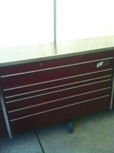 MR BIG PROFESSIONAL 5 BAY SNAP ON TOOL BOX WITH 8 CASTER WHEELS Windsor Region Ontario image 7