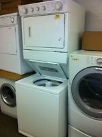 "Stacking  Washer and Dryer - Used Appliance ""SALE"""
