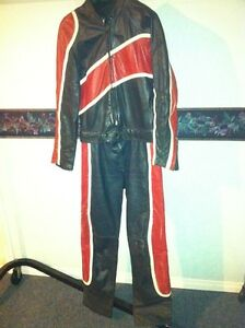 TWO PIECE TAURUS MOTOTCYCLE RACING SUIT SIZE 36-38 Windsor Region Ontario image 1