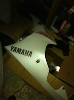 YAMAHA R6 09 COMPLETE SET OF BODY WORK INCLUDING THE FUEL TANK