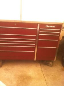 MR BIG PROFESSIONAL 5 BAY SNAP ON TOOL BOX WITH 8 CASTER WHEELS Windsor Region Ontario image 6
