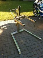 HEAVY DUTY HARLEY DAVIDSON AND STREET BIKE MOTORCYCLE LIFT 1000