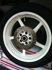 YAMAHA R6R 06-15 STOCK FACTORY OEM WHEELS COMPLETE WITH TIRES