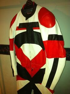 50% OFF NEW TWO PIECE MOTORCYCLE RACING SUIT SIZE L Windsor Region Ontario image 4