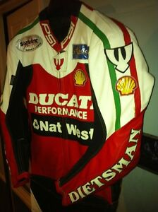 RARE CARL FOGARTY NEW RACE REPICA CUSTOM MADE RACING SUIT Windsor Region Ontario image 4