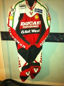 RARE CARL FOGARTY NEW RACE REPICA CUSTOM MADE RACING SUIT Windsor Region Ontario image 2