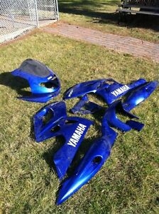 PARTING OUT A 1996-2006 YAMAHA YZF600RH2R THUNDER CAT Windsor Region Ontario image 1