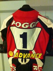 RARE CARL FOGARTY NEW RACE REPICA CUSTOM MADE RACING SUIT Windsor Region Ontario image 7