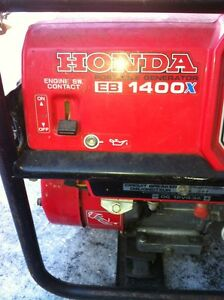 HONDA PORTABLE GENERATOR EB1400X Windsor Region Ontario image 2