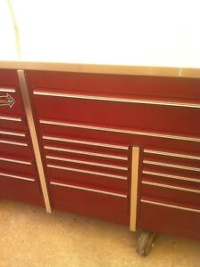MR BIG PROFESSIONAL 5 BAY SNAP ON TOOL BOX WITH 8 CASTER WHEELS Windsor Region Ontario image 8