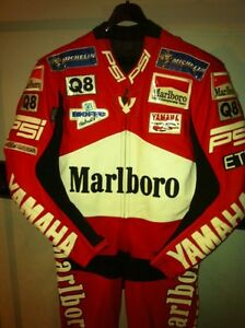 MAX BIAGGI RACE REPLICA CUSTOM MADE RACING SUIT NEW