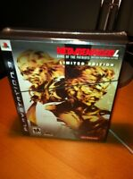 Metal Gear Solid 4 LE - New, Factory Sealed, Rare, PS3