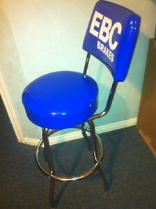 NEW EBC BRAKES BAR STOOL WITH FOOT REST AND BACK SUPPORT Windsor Region Ontario image 3