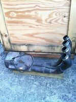 Yamaha R6R 2006 stock exhaust system with servo motor like new