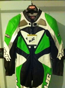 HJC NEW RACING SUIT WITH COMPLETE BODY ARMOUR AT 30% OFF