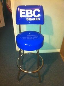 NEW EBC BRAKES BAR STOOL WITH FOOT REST AND BACK SUPPORT Windsor Region Ontario image 1