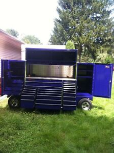 THE BEST SNAP ON 3 BAY PIT NASCAR STYLE WAGON/BOX  WITH EXTRAS Windsor Region Ontario image 4