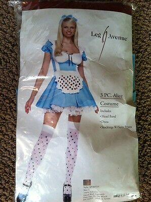 "LEG AVENUE ""ALICE"" WOMEN'S ADULT COSTUME - SIZE L"