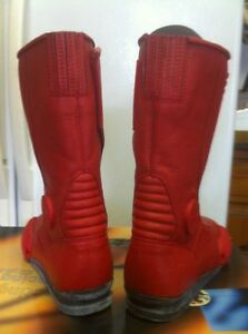 TEKNIC MAGNUM BOOTS RED SIZE 9 NEW IN THE BOX Windsor Region Ontario image 2