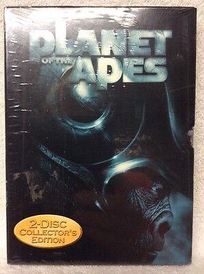 Planet Of The Apes Dvd Mark Wahlberg Tim Roth Helen Bonham Carter Paul Giamatti