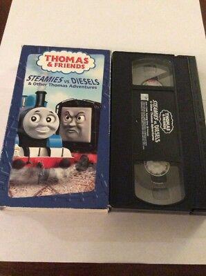 Thomas The Tank Engine & Friends - Steamies Vs. Diesels - VHS Video