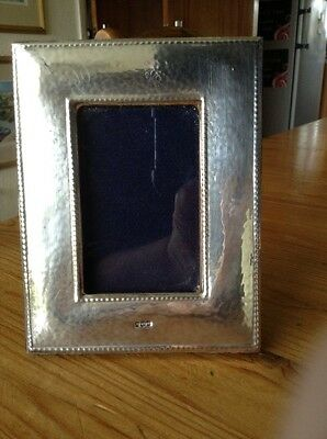 Solid Britannia Standard Silver Photo Frame