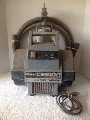 Capspray Cs5100 Hvlp Paint Sprayer 2 Stage Turbine With Gun And Hose