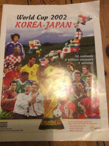 World Cup 2002 Brochure JApan Korea