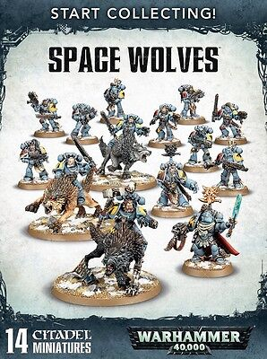 Warhammer 40k Start Collecting: Space Wolves, New Toys And Games