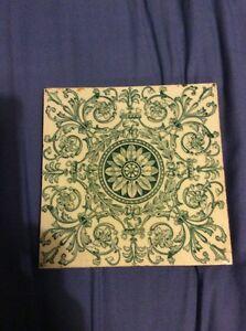 Minton Hollins & Co Victorian Reclaimed Tiles Georgian Vintage Antique Salvage