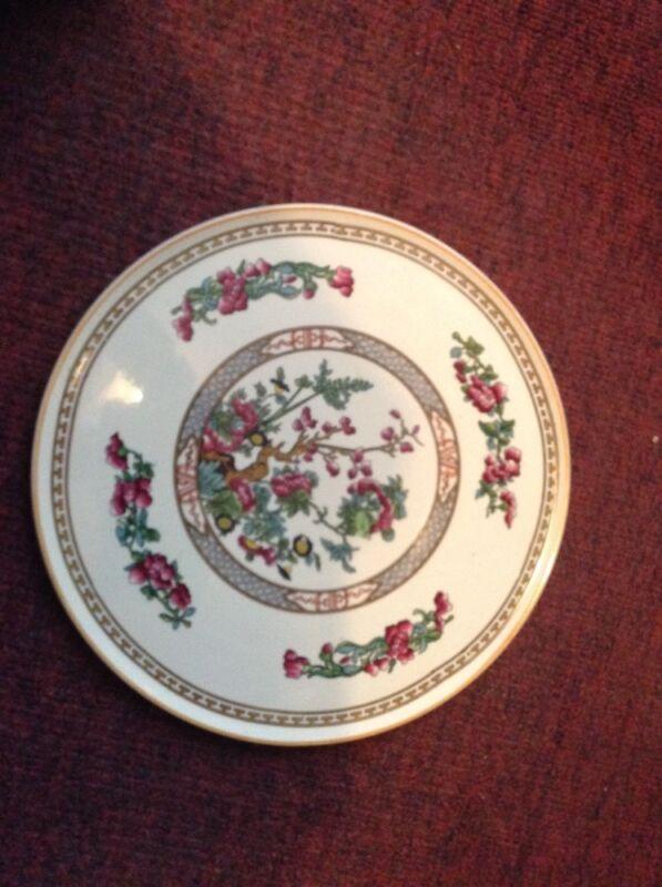 """Barker Bros England vintage Royal Tudor serving cake 11 1/8"""" plate"""